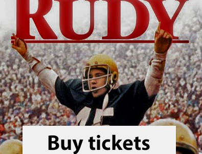 Next Screening — RUDY, Thurs Sept 13, 6:30pm, Staples High Auditorium