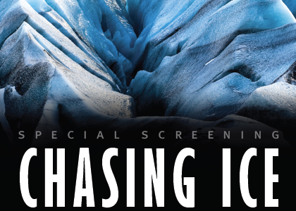 Chasing Ice — Sun May 4, 4pm, Westport Town Hall