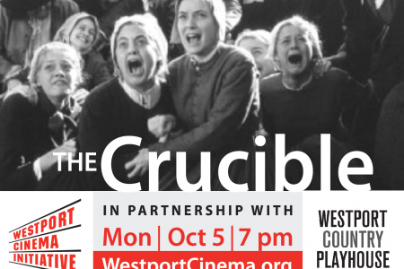 """The Crucible"" Mon Oct 5 @ 7PM"