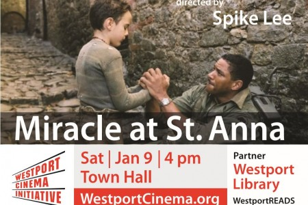 WestportREADS: Miracle at St. Anna – January 9th 4pm