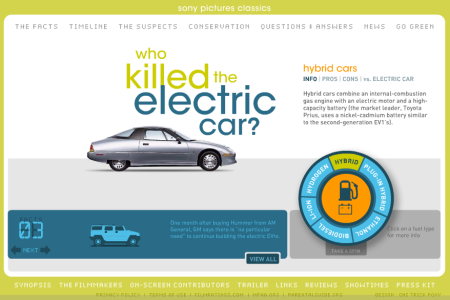 Who Killed The Electric Car? A green day Special Event, Sat May 14 – 6PM