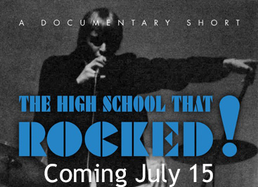 The High School That Rocked! – Sat July 15, 4PM @ Westport Town Hall